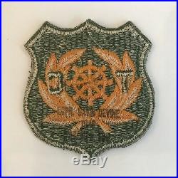 Ultra Rare WW2 Era US Army Transportation Corps Military Patch Mint & Stamped
