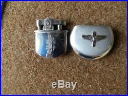 Us Army Air Corp Aviation Cadet Usaaf Force Ww Ii, Ronson Lighter, Rare