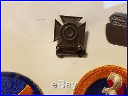 Us Army Air Force World War 2 Ww2 Medals Patches Pins Dog Tag Wwii Make Offer