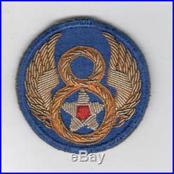 VHTF Gemsco WW 2 US Army 8th Air Force Bullion Patch Inv# Z755