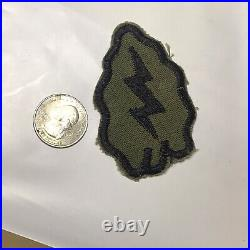 VINTAGE US ARMY 25th Infantry Division WWII TROPIC LIGHTNING SSI