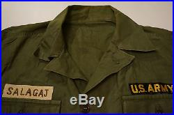 VTG WWII US Army Military Shirt Specialist Flying Tiger 2nd Corps Patch Stencil