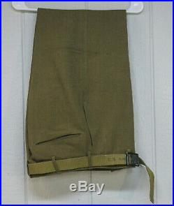 VTG WWII WW2 MILITARY DRESS UNIFORM US ARMY ARTILLERY NAMED NUMBERED b48c ST135