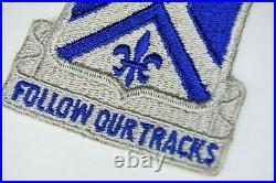 Very RARE Authentic WWII U. S Army 746th Armored Infantry Battalion Patch No Glow
