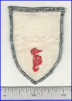 Very Rare D Day Unit WW 2 US Army 540th Combat Engineer Regiment Patch Inv# W745