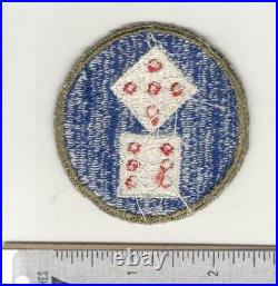 Very Rare WW 2 US Army 11th Corps OD Border Patch Inv# N104