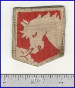 Very Rare WW 2 US Army 1629th Engineer Construction Battalion Patch Inv# B074