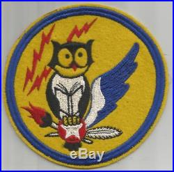 Very Rare WW 2 US Army Air Force 999th WASP Training Base 5 Patch Inv# K522