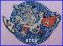 Vintage 23rd Target Tow Squadron Flight Jacket Patch US Army Air Corps Force WW2
