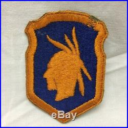 Vintage Military US 98th Army Infantry Division Variant Patch 98 WWII