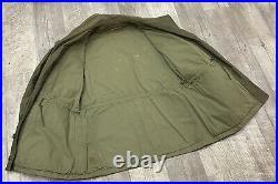 Vintage Post WW2 Japan Occupation Era US Army Field Coat Jacket Ryukyu Patch M43