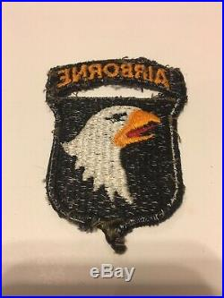 Vintage US 101st Army Airborne Infantry Division Patch WWII