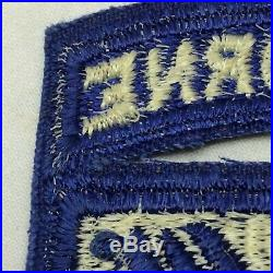 Vintage US 18th XVIII Army Airborne Corps Patch WWII Right Facing Variant Sleeve