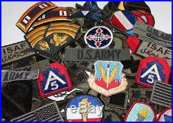 Vintage US Military Patches Collectible Army Patches WWII Patches Vietnam