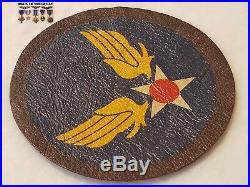 Vintage WW2 WWII US Army Air Corps Air US Army Air Force Leather Painted Patch