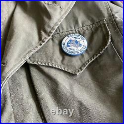 Vintage WWII M1943 Field Jacket 370C World War 2 US Army Womens with Patches Pins