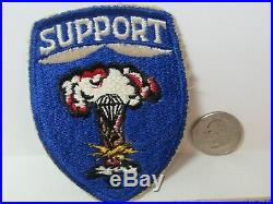 Vtg. Post WWII/KW Era US Army 82nd Airborne Division Support Command Patch