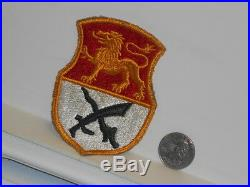 Vtg. WWII US Army 15th Cavalry Regiment FE, CE Patch Variation