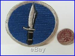 Vtg. WWII US Army 1st SSF Operation Cottage Amphibious Task Force 9 Kiska Patch