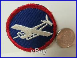 Vtg. WWII US Army Enlisted Man's Artillery Glider Troops ET Patch