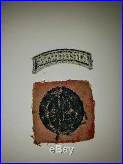 WA1-3 Original WW2 US Army 82nd Airborne Shoulder Patch Air Force Bouillon AAF