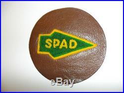 WA3-40 WW 2 US Army Air Force SPAD San Pedro Air Depot Chenille/Leather original