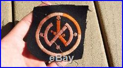WW1 US Army Military 27th Infantry Division French Made Patch