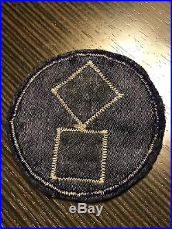 WW2 11th Corps Us Army Military Silk Patch