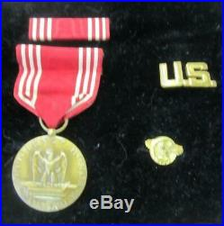 WW2 ARMY MEDIC MILITARY MEDALS PATCHES PERSONAL GEAR 78th LIGHTNING DIVISION US
