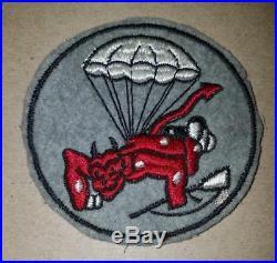 WW2 ERA US ARMY 508th PARACHUTE INFANTRY REGIMENT PATCH FELT