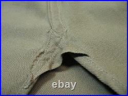 WW2 Era 1945-46 US Army Uniform Shirt Khaki Gusseted sz M 15-34 + Patches