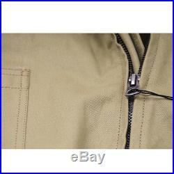 WW2 Fury Brad Pitt Tanker Jacket Military Patch Uniform US Army Mens Cotton Coat