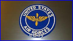 WW2 USAAF US Army Air Corps PX Home Front Pocket Patch Silk Screened