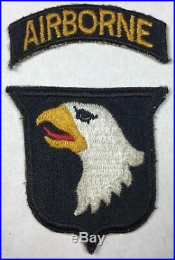WW2 US ARMY 101ST AIRBORNE DIVISION PATCH WWII U. S. A. Army Nice
