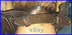 WW2 US ARMY Air Corps Leather Flight Helmet MED