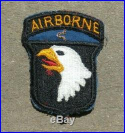 WW2 US ARMY MILITARY 101st Airborne Infantry Division RHINE RIVER CROSSING PATCH