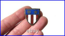 WW2 US ARMY MILITARY China India Burma CBI CHINESE Made Patch Type DI Pin