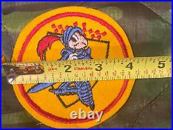 WW2 US Army 275th Armored Field Artillery Battalion Patch Rare WWII Disney