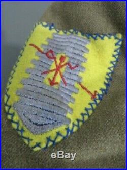 WW2 US Army 4th Cavalry Uniform Set with Super Felt type Patch Very nice set