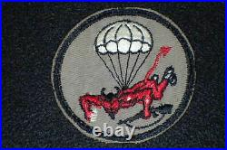WW2 US Army 508th Airborne Infantry Regiment Patch Original Gauze Back 82nd AB