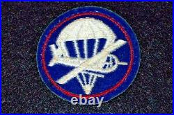WW2 US Army 508th Airborne Regiment 82nd Division Glider Troops Cap Patch RARE