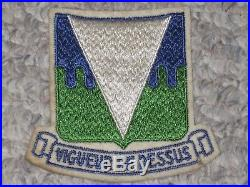 WW2 US Army 511th Parachute Infantry Regiment Boots Patch WWII Cut Edge