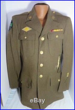 WW2 US Army 5307th Composite Unit Merrills Marauders uniform with Bullion Patch