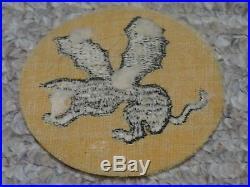 WW2 US Army 541st Parachute Regiment Patch WWII Cut Edge Felt