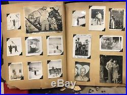 WW2 US Army 558th Air Force Band Scrap Book, Pianist Andrew berggreen, Saipan