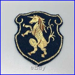 WW2 US Army 6th Cavalry Patch German Made On Wool A81