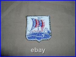 WW2 US Army 99th Infantry Battalion with rare OD border