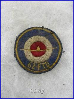 WW2 US Army Air Corps 62nd Flying Training Detachment Patch English Made J482