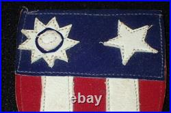 WW2 US Army Air Force USAAF China Burma India Theater Leather A-2 Patch Original