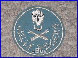 WW2 US Army Air Forces 90th Bomb Group Jacket Patch WWII Cut Edge Felt
